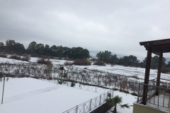 lesvos in white _hotel and kalloni pool