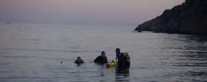 swimming with diving equipment - Imerti's Hotel services