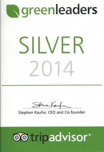 Green-Leader-trip-advisors-silver-certificate- 2014-Imerti-Boutique-Hotel-Lesvos