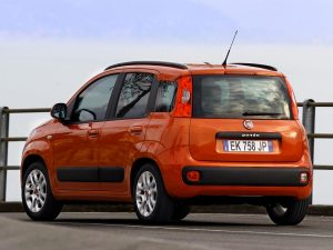 birding in Lesvos with a car fiat panda